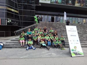 Petošolci tretji v projektu Varno na kolesu