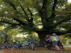 V času Evropskega tedna mobilnosti smo postali ambasadorji varnega kolesarjenja in promotorji gibanja