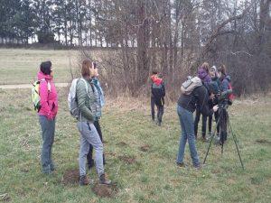 Opazovanje ptic v okviru projekta Turizmu pomaga lastna glava