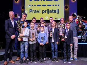 Petošolec Aleksander Bogunović državni prvak 2018 v kartingu
