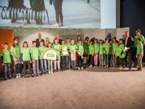 Učenci petega razreda osvojili drugo mesto v projektu Varno na kolesu