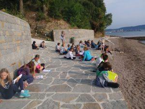 Tretji dan poletne šole v naravi
