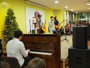 Glasbeno-družabno srečanje Osnovne šole Prestranek in otvoritev telovadnice