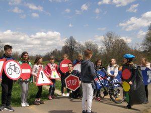Petošolci osvojili drugo mesto v projektu Varno na kolesu