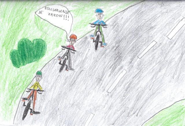 3. sklop projekta Varno na kolesu