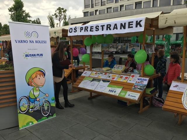 Predstavitev projekta Varno na kolesu v Postojni
