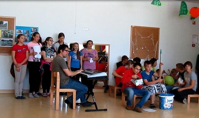 Tehniški dan, izdelava instrumentov in glasbeno ustvarjanje v 7. razredu