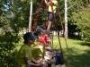 Sodelovanje mladih gasilcev na tekmovanju