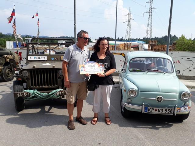 Dobrodelno mednarodno srečanje starodobnih vozil Postojna 2017