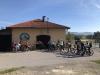 S kolesom k spominskim obeležjem